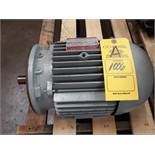 GE TRI CLAD AC MOTOR 5HP (LOCATED AT: 432 COUNCIL DRIVE, FORT WAYNE, IN 46825)