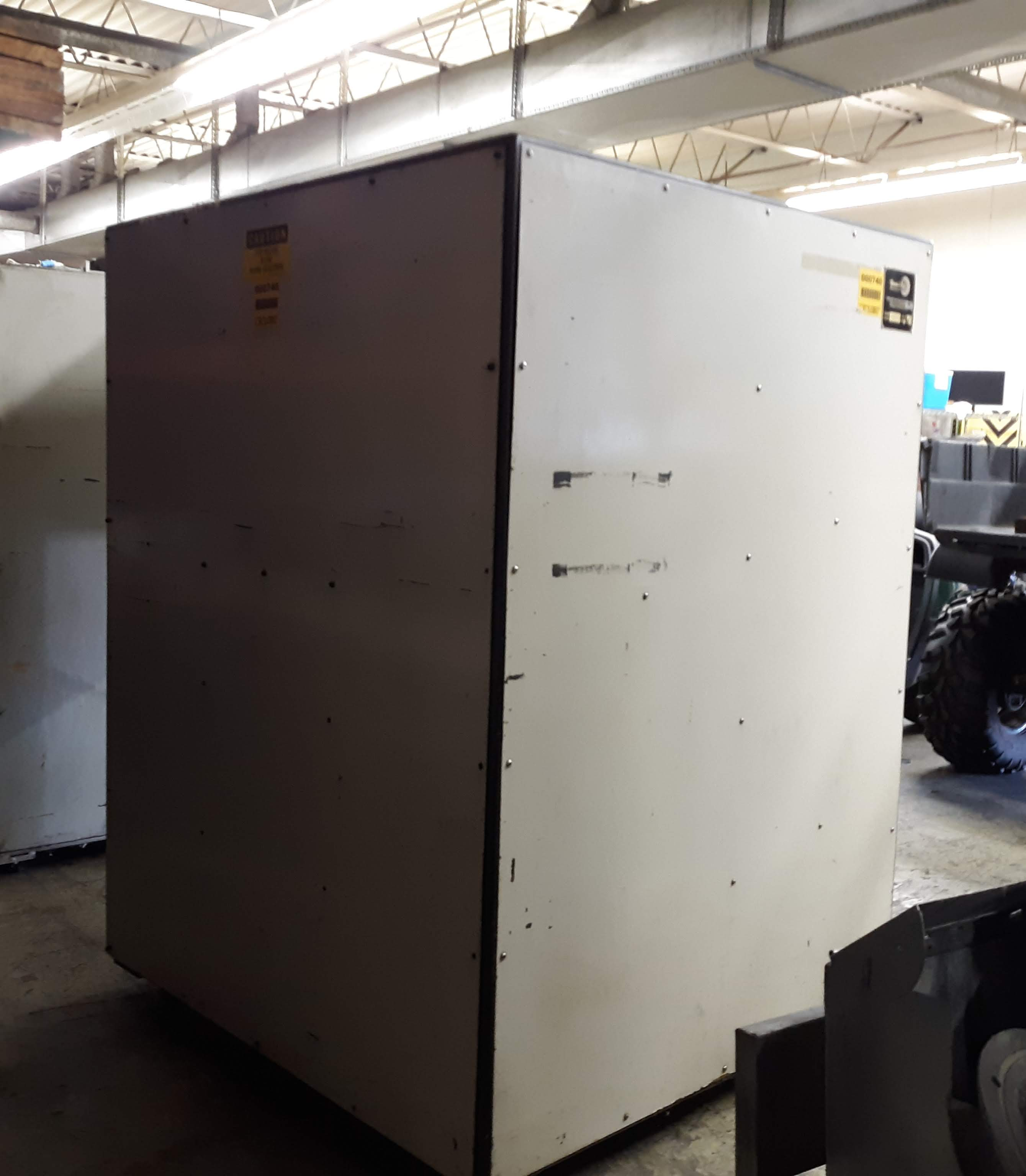 Lot 1236 - GRAV-I-FLO GYRA FINISH CENTRIFUGAL BARREL FINISHING MACHINE MODEL-C-4806 S#173 460V/3PH/60HZ (