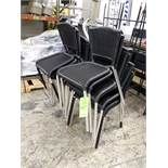 (14) FAUX-WICKER (VINYL) STACKING CHAIRS (LOCATED AT: 433 COUNCIL DRIVE, FORT WAYNE, IN 46825)
