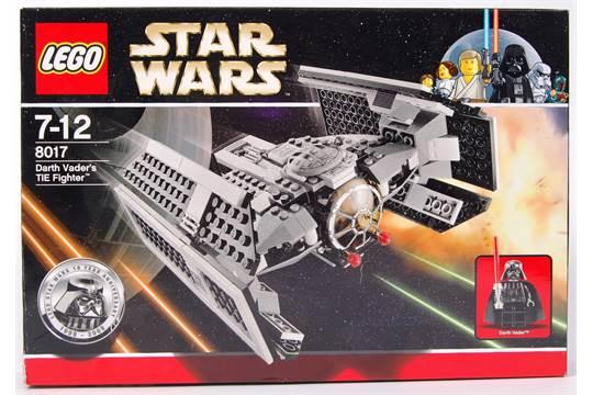 An Original Lego Star Wars Set 8017 Darth Vaders Tie Fighter