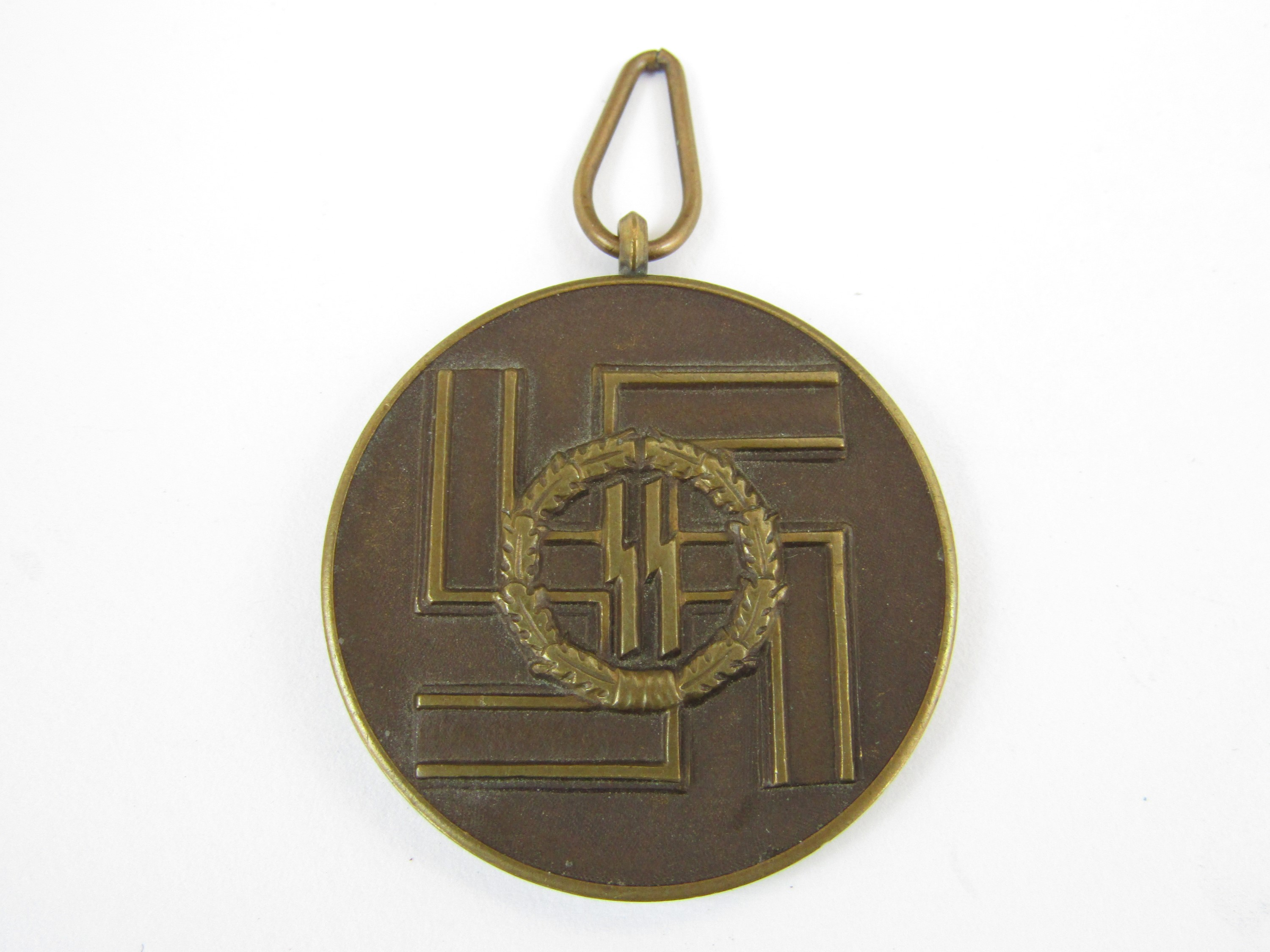 A German Third Reich SS 8-year Long Service Medal