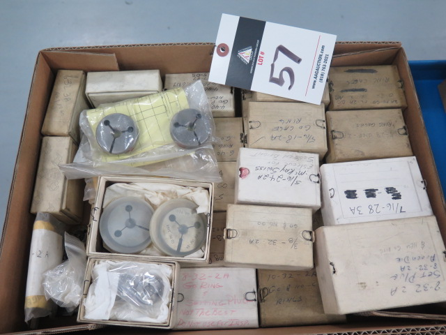 Lot 57 - Thread Ring Gages