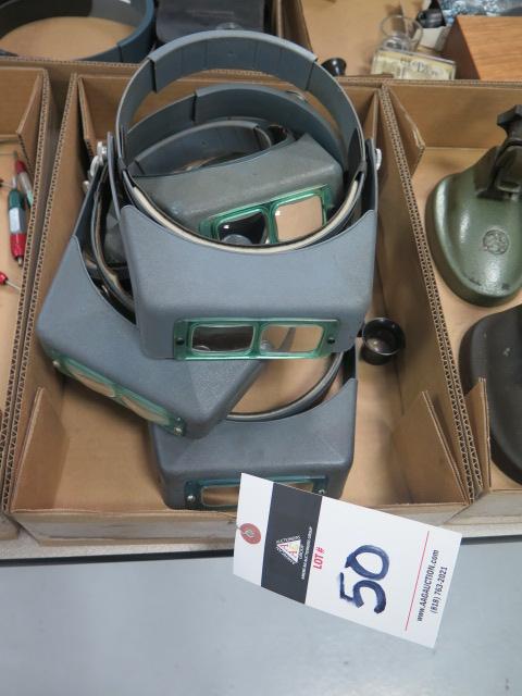 Lot 50 - Magnifying Visors