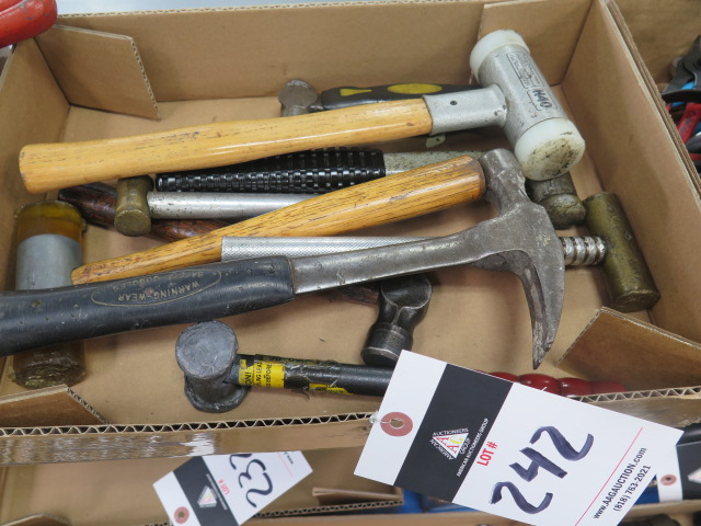 Lot 242 - Hammers and Mallots