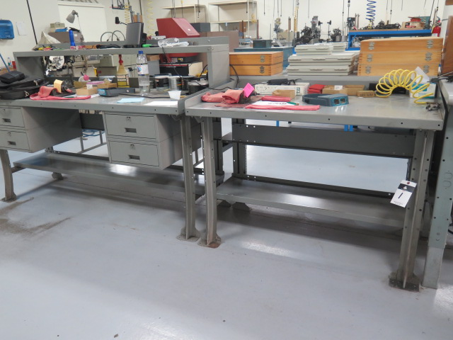 Lot 1 - Work Benches (2)