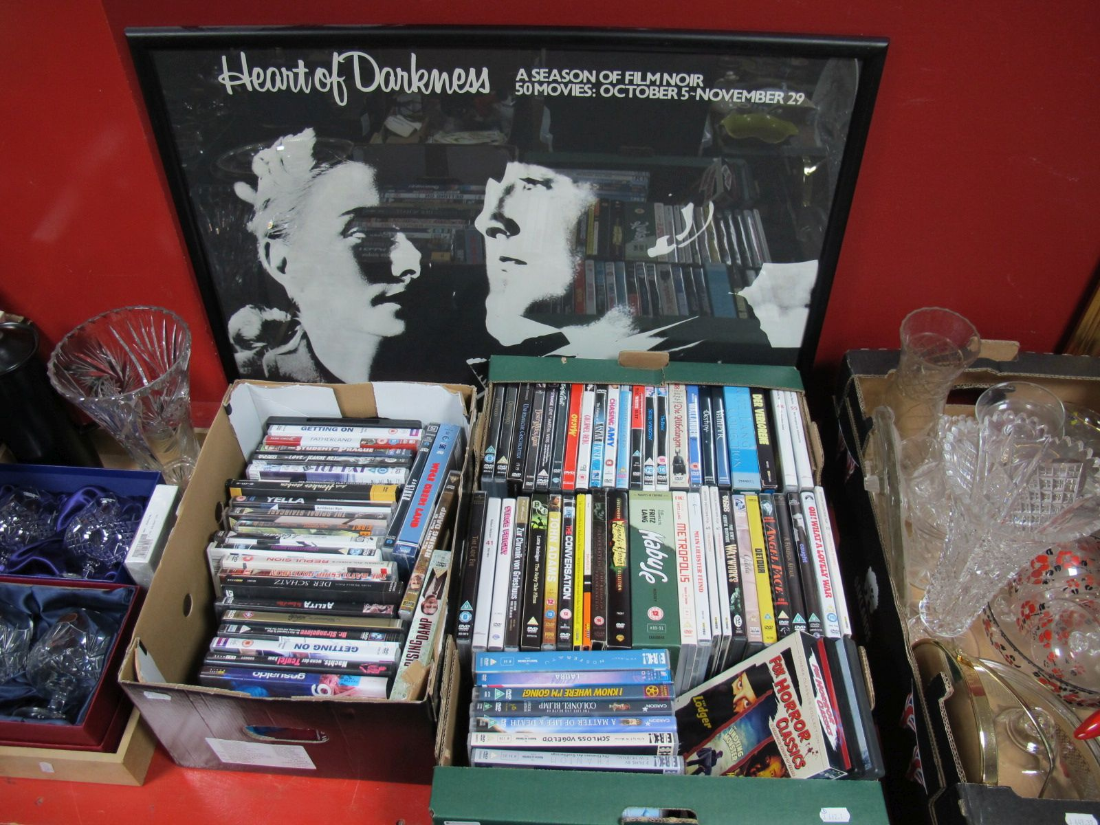 Lot 461 - An Interesting Collection of DVD's, themes noted to include German Film Noir, horror, Fritz Lang,