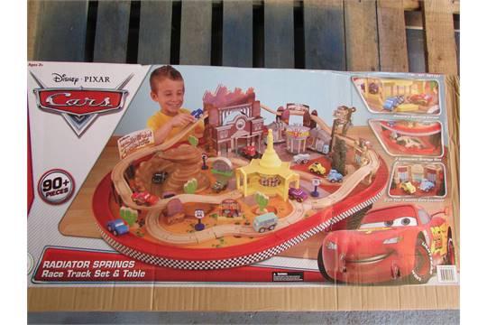 Kidkraft Disney Cars Radiator Springs Racetrack Set And Table 3 Years New