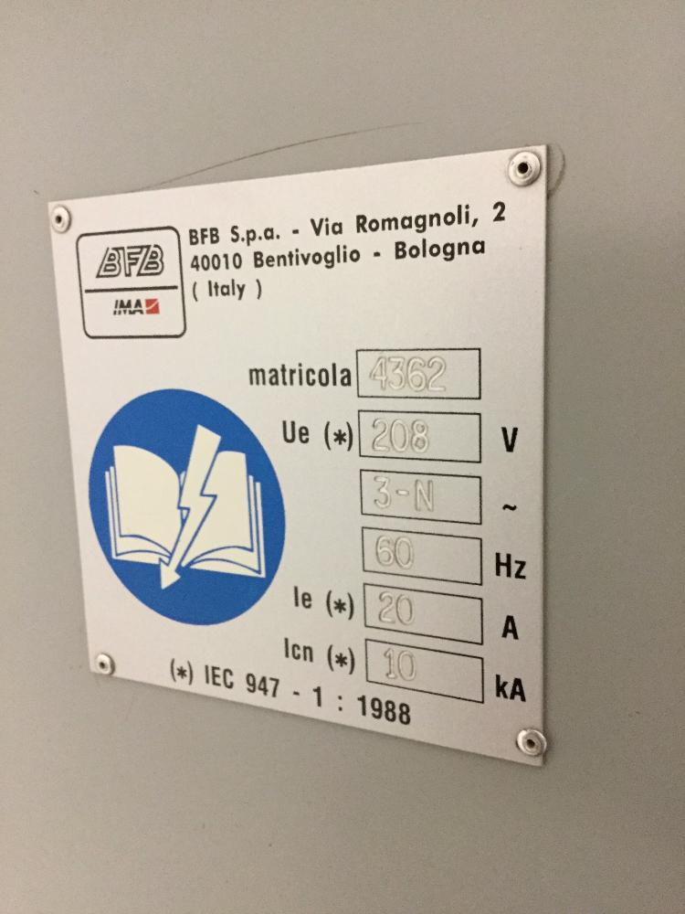 Lot 30 - IMA Model MS500BD Bundler