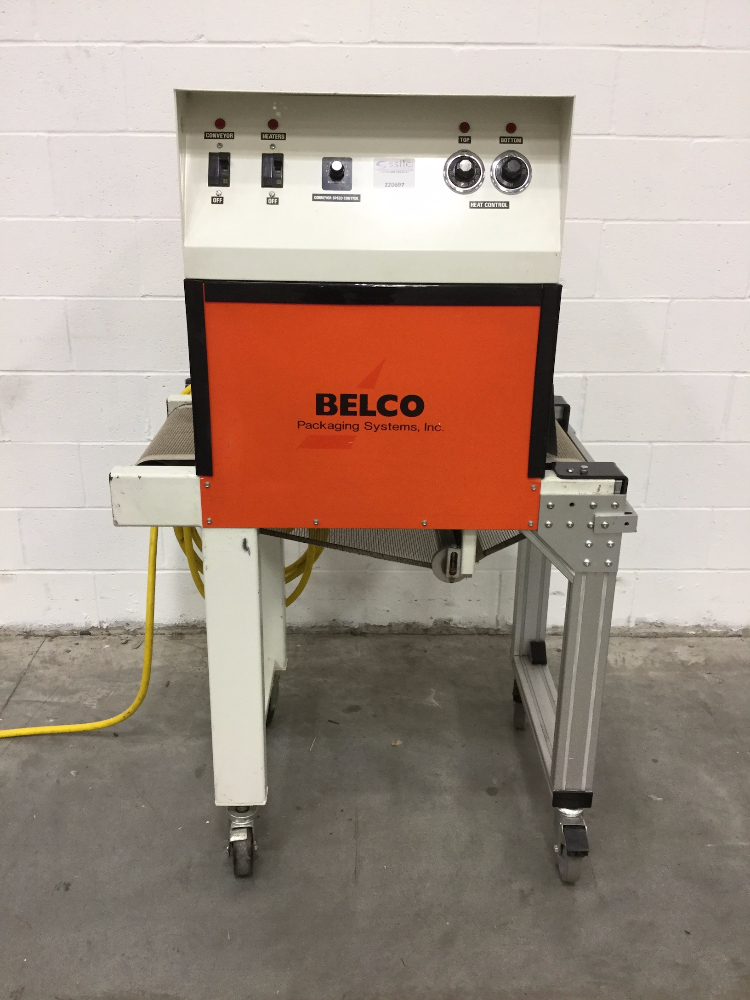 Lot 34 - Belco Packaging Model STC 2016 Shrink Tunnel