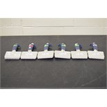 Lot of (6) Rainin Multi-Channel Pipettes