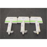 Lot of (3) Eppendorf Multi-Channel Research Pipettes