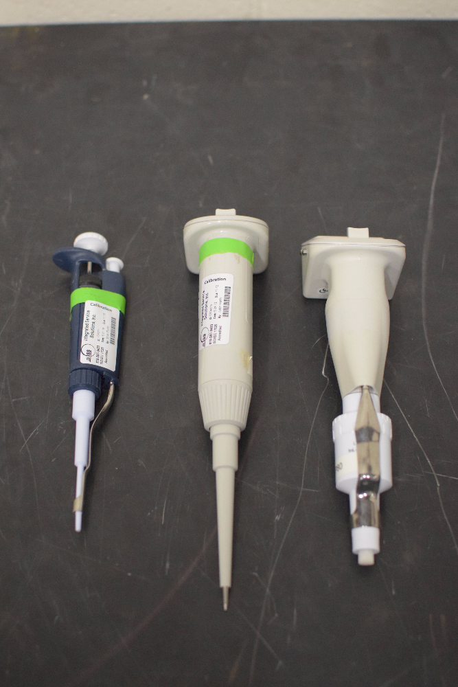 Lot 2 - Lot of (3) Pipettes