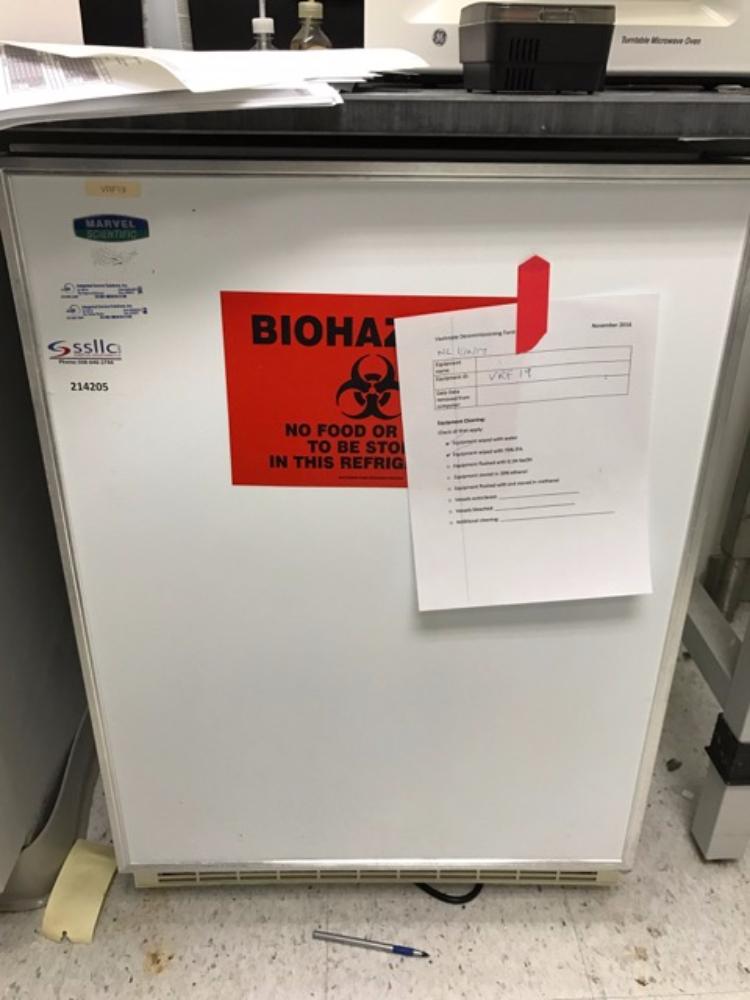 Lot 33 - Marvel Scientific Refrigerator
