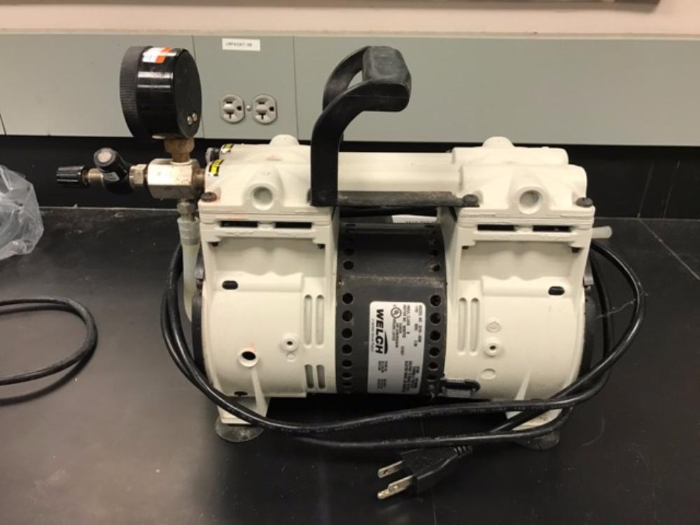 Lot 50 - Welch Vacuum Pump