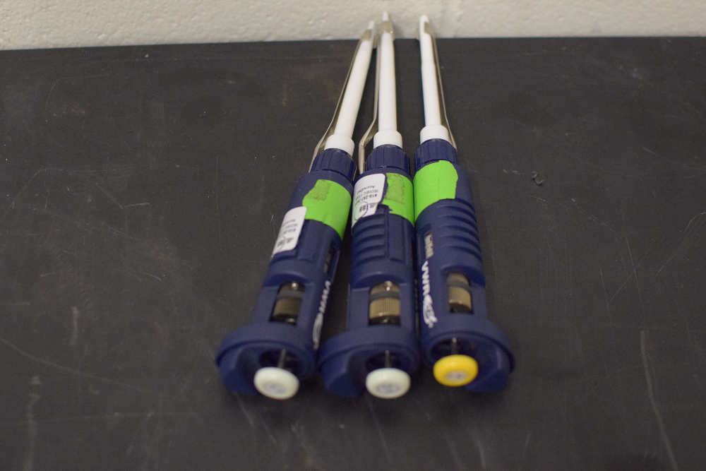 Lot of (3) VWR Pipettes