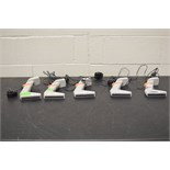 Lot of (5) Thermo Scientific Matrix Digital Pipettes