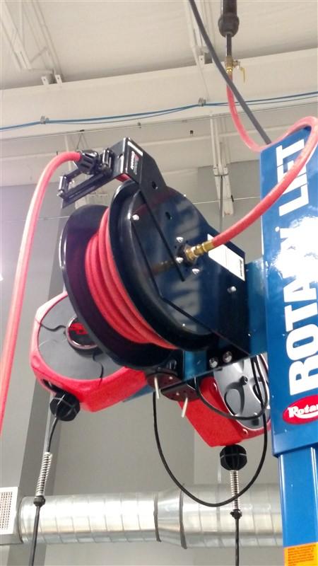 "Lot 26 - Balcrank 2120-015 Air Reel w/ Inlet Connecting Hose (3/8"" x 50') - (1 x Bid)"
