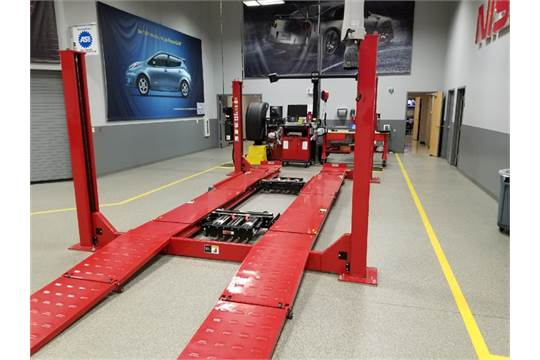 Hunter Alignment Rack >> Hunter L421 14k 14 000 Lb 4 Post Surface Alignment Rack