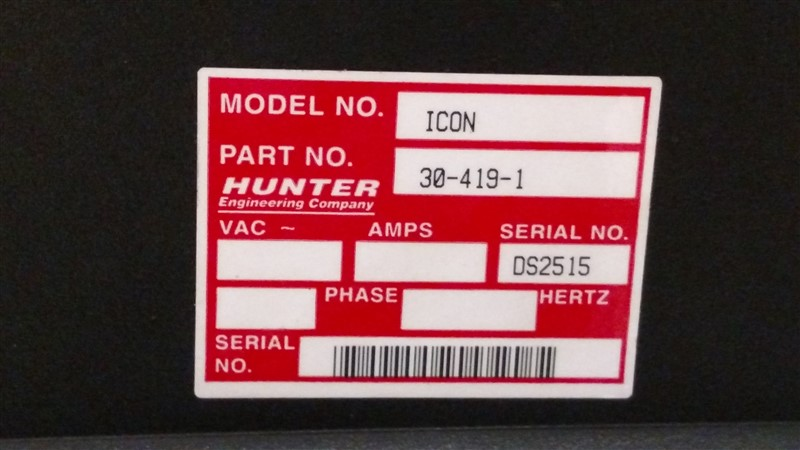 Lot 16 - HawkEye Alignment System: WinAlign (Version 12.1.2) WA140 (R811) Console s/n DS9094 w/ (4) ...