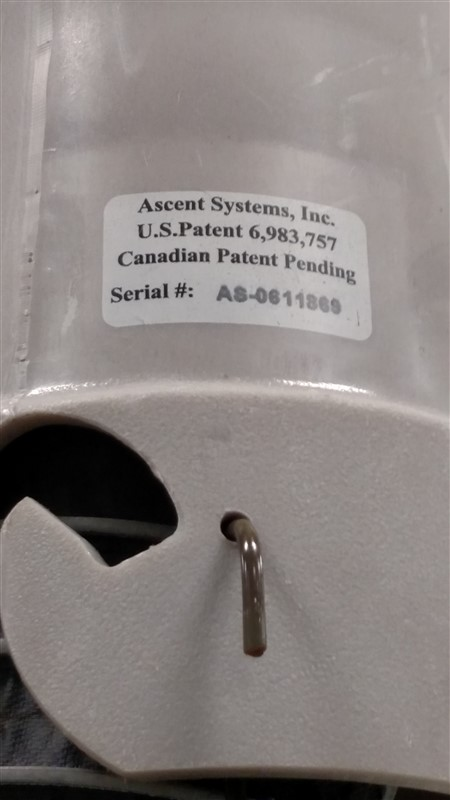 Lot 20 - (8) Accent Systems Flexible Exhaust Hoses, Drop-Extensions (only) w/ Coupler Ends (8 x Your Bid)