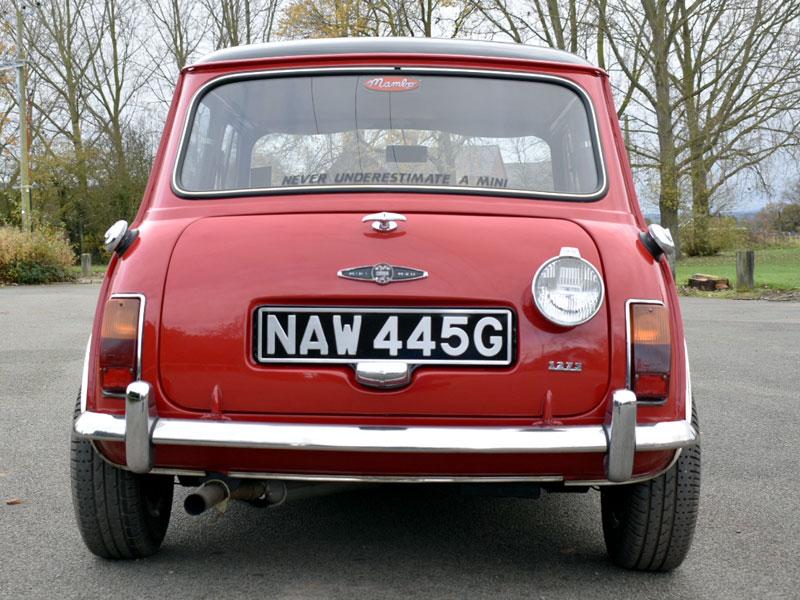 Lot 114 - 1968 Morris Mini Cooper S MKII