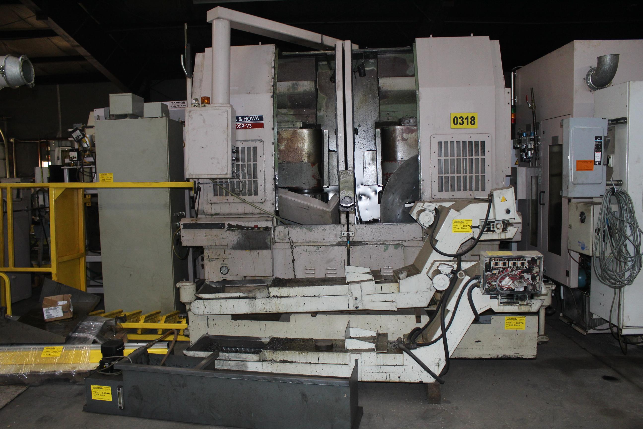 12058923 okuma lathe act 2sp v3 model year 07 1994 serial 30497 rh bidspotter com Okuma Howa 5-Axis Okuma Howa Machines