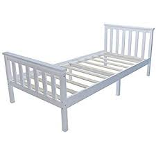Boxed Pine Single Bed RRP £80 (18364) IMAGES ARE FOR ILLUSTRATION PURPOSES ONLY AND MAY NOT BE AN