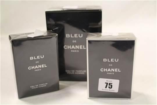 Bleu De Chanel Eau De Parfum 150ml And 50ml And Bleu De Chanel Eau