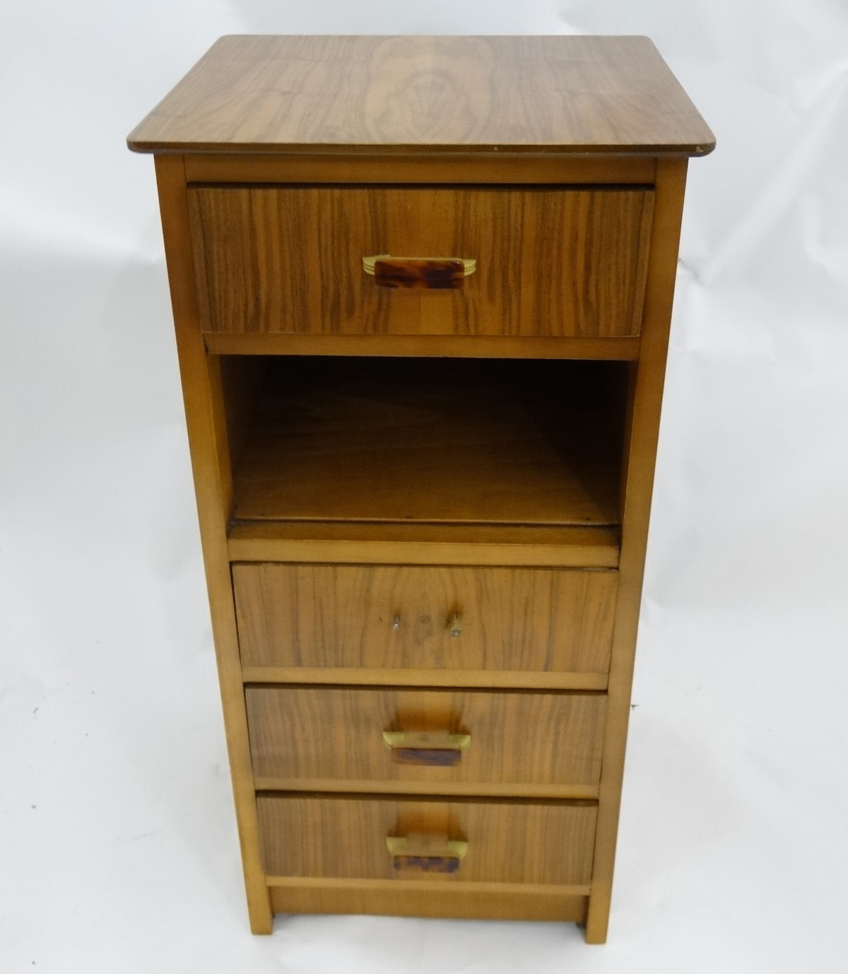 Lot 8 - A retro walnut bedside cabinet by Avalon CONDITION: Please Note - we do not make