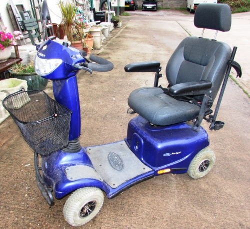 Lot 46 - INVACARE AURIGA MOBILITY BUGGY (CHARGER IN OFFICE) (NO KEY)
