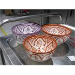 Cage to include Moroccan bowls