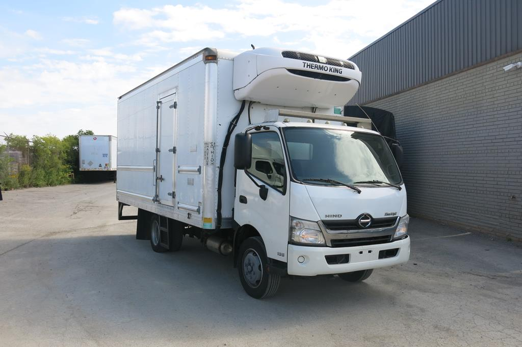 Lot 217 - 2013, HINO, 195, REEFER TRUCK, MULTIVANS, 18', INSULATED BOX, THERMOKING, T800 WHISPER, REEFER,
