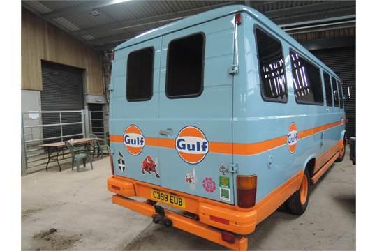 A Mercedes 508D Camper Van/ Motor Caravan, first registered