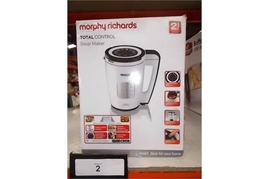 Morphy Richards total control soup maker  Large 1 6L