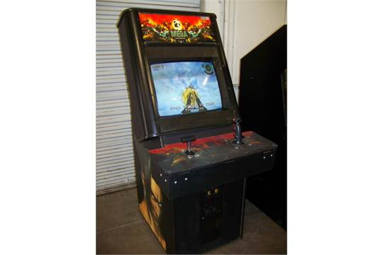 TSUNAMI MEGA UPRIGHT BATTLE ARCADE GAME AIR RAID