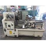 """Cadillac 22"""" Geared Head Gap Bed Lathe s/n B92892 w/ 25-1500 RPM, Inch/mm Threading, SOLD AS IS"""
