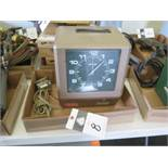 Amano Time Clock (SOLD AS-IS - NO WARRANTY)
