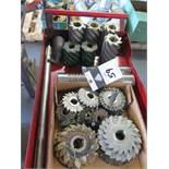 Mill Slot Cutters and Facing Mills (SOLD AS-IS - NO WARRANTY)