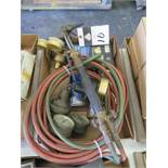 Torch, Regulators and Hose (SOLD AS-IS - NO WARRANTY)