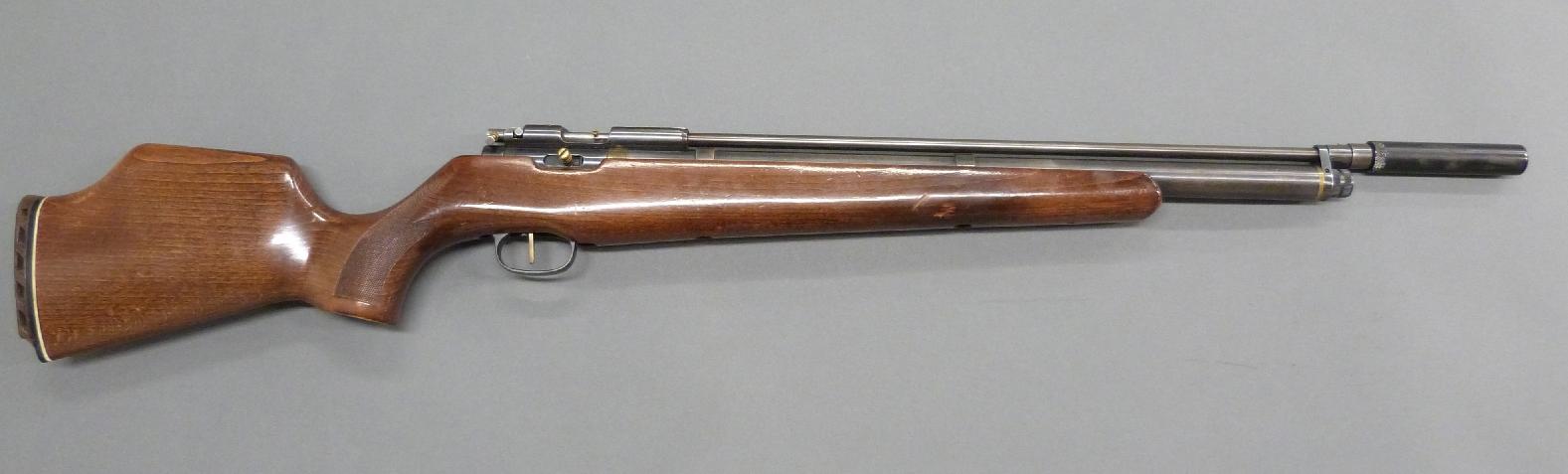 Titan/ Falcon  22 air rifle by John Bowkett marked S W P