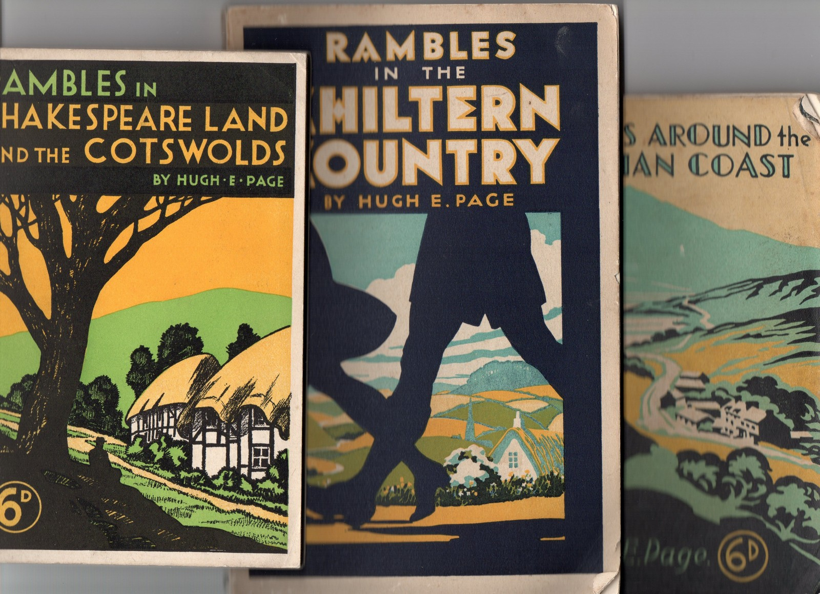 Lot 922 - GWR Ramblers books published by GWR, Rambles in the Chiltern Country; Rambles Around the Cambrian
