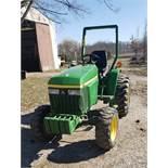 2005 John Deere Model 790 Tractor 5 Speed, 4 x 4 Diesel, 2811 Hours, s/n LV0790G892423