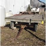 4-Wheel Farm Wagon 12' Long x 8' Wide