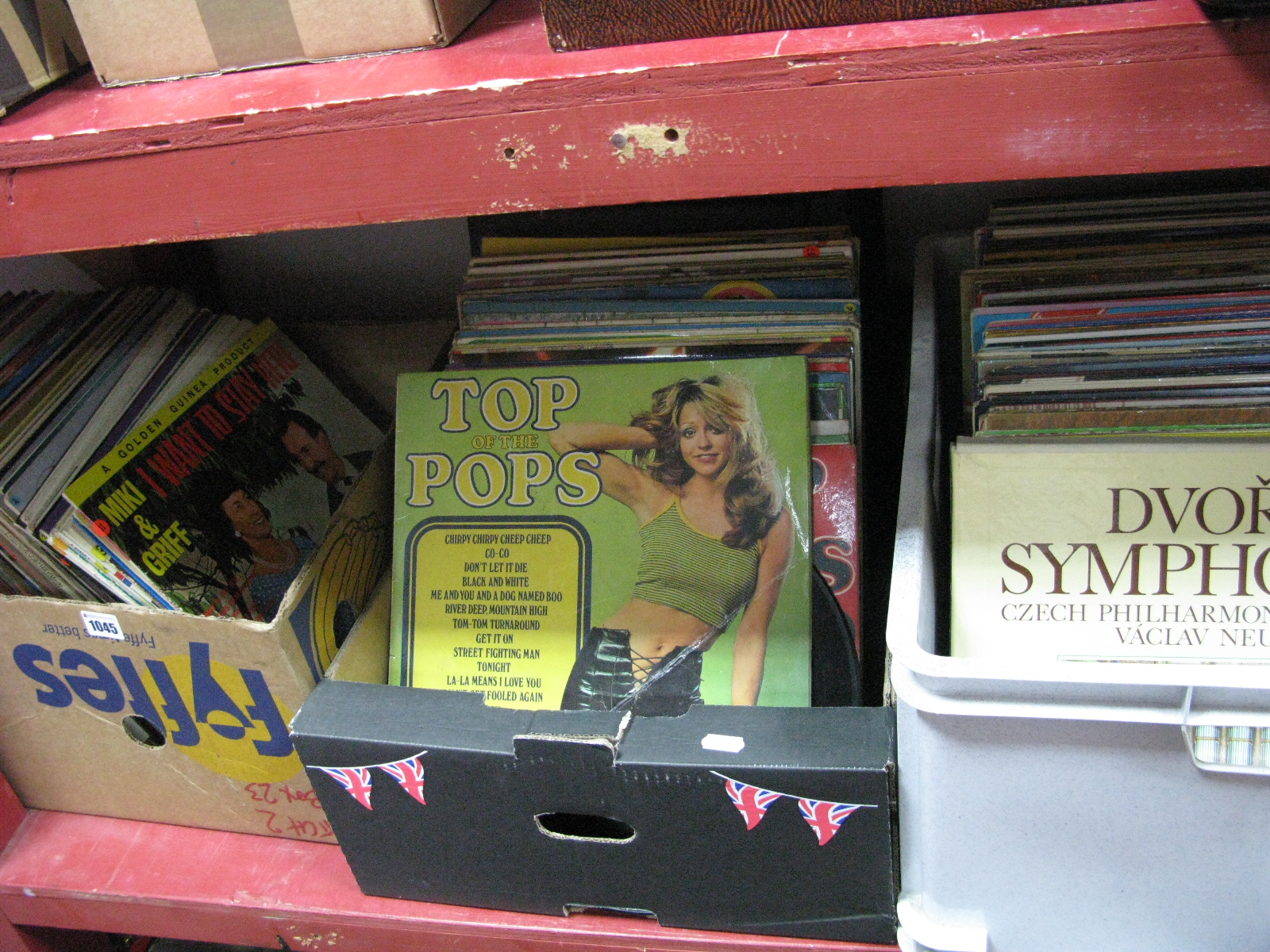 Lot 1045 - A Large Collection of LP's, various genres.