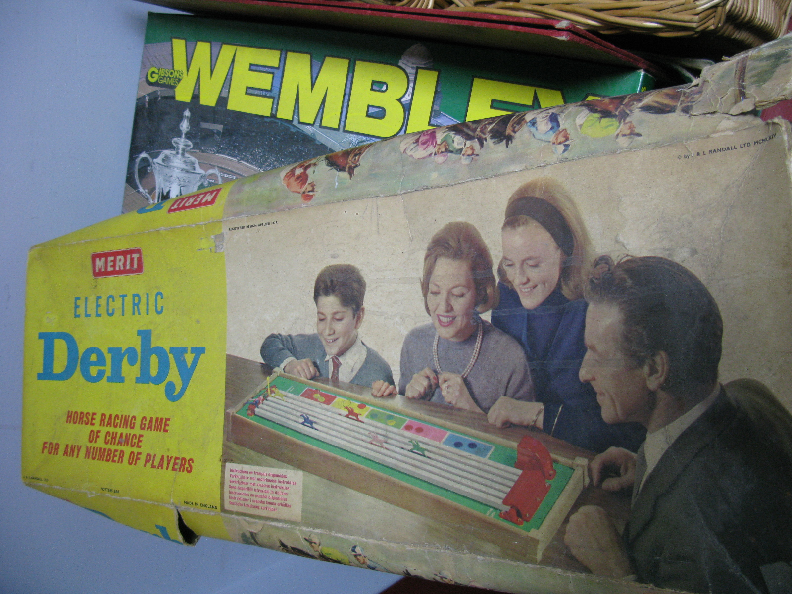 Lot 1041 - Totopoly, Carrow Road, Wembley, Electric Derby etc:- One Box