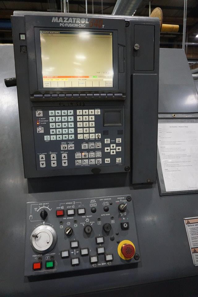 MAZAK QUICKTURN 35XS CNC LATHE (ASST#: D117104) - Image 6 of 9