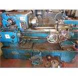 """Dean Smith Grace 13"""" x 30"""" lathe to include 4 three jaw chucks and a 3 point steady"""
