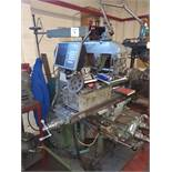 Parkinson Universal milling machine with dividing head, arbours and vertical head. Serial No. 1NA