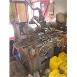 """Myford cylindrical grinder adapted for 12"""" wheel and hydraulic retracts. Serial No. HB75980"""