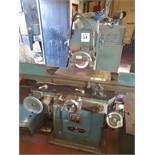 """Jones and Shipman 1400 surface grinder capacity 8"""" x 24"""" with magnetic chuck and coolant filtration"""